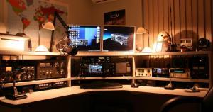 amateur radio desk