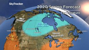 2020 spring temperature