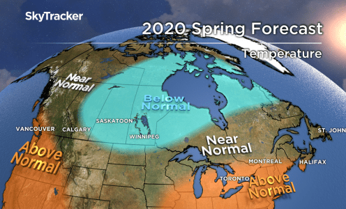 2020 Spring Weather Forecast