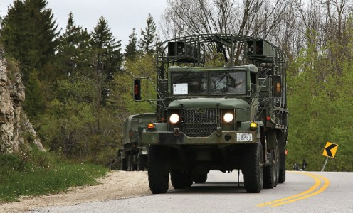 Troops, vehicles to move through to CFB Borden for anti-coronavirus fight