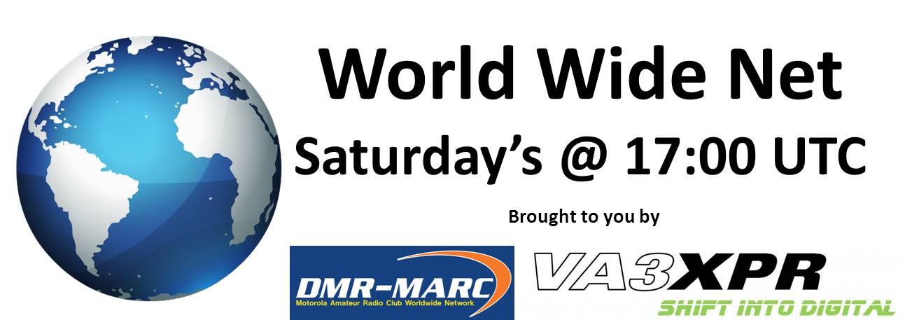 DMR-MARC World Wide Net - VA3XPR