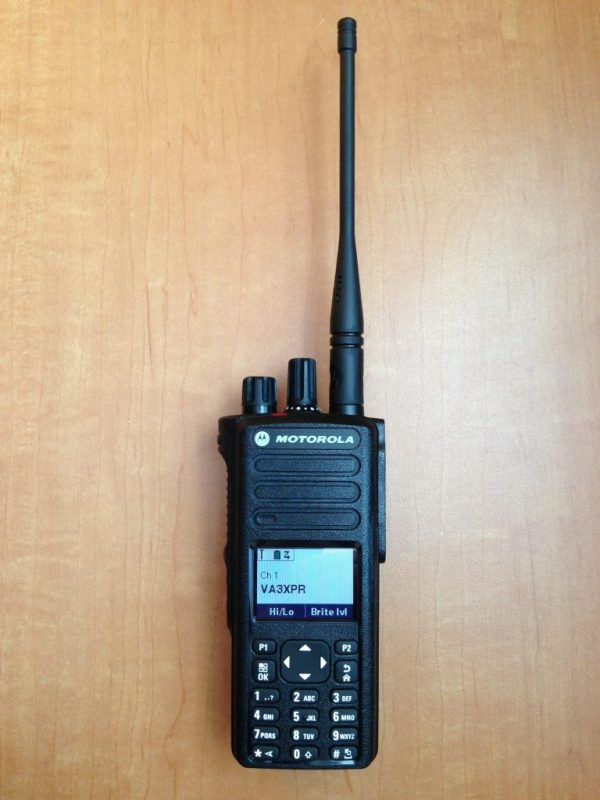 VA3XPR, Motorola, MOTOTRBO, XPR 7550, XPR7550, DP4800, DP4801, DMR, Digital Mobile Radio, Portable, HT, amateur radio, ham radio, Toronto, review, digital