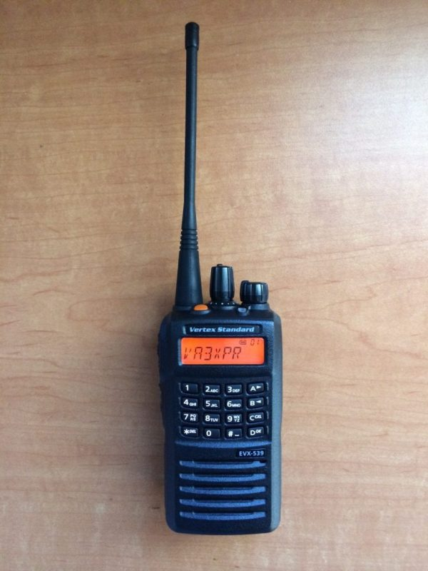 Vertex Standard, Vertex, Standard, eVerge, EVX-539, EVX539, digital mobile radio, DMR, portable, radio, ham radio, amateur radio, VA3XPR, review, reviews, EVX-534, EVX534, handie talkie