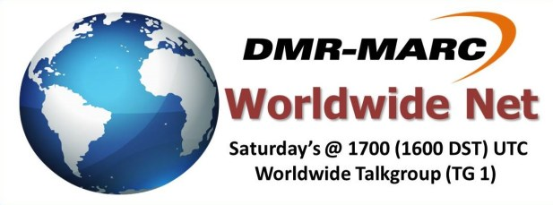 DMR-MARC, Worldwide Net, TG1, talkgroup 1, DMR, ham radio, net, amateur radio, digital mobile radio