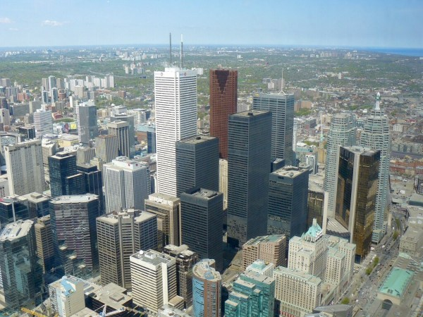 VA3XPR Toronto DMR ham radio First Canadian Place