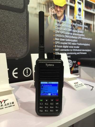 Tytera TYT Electronics DMR radio UHF ham amateur VA3XPR