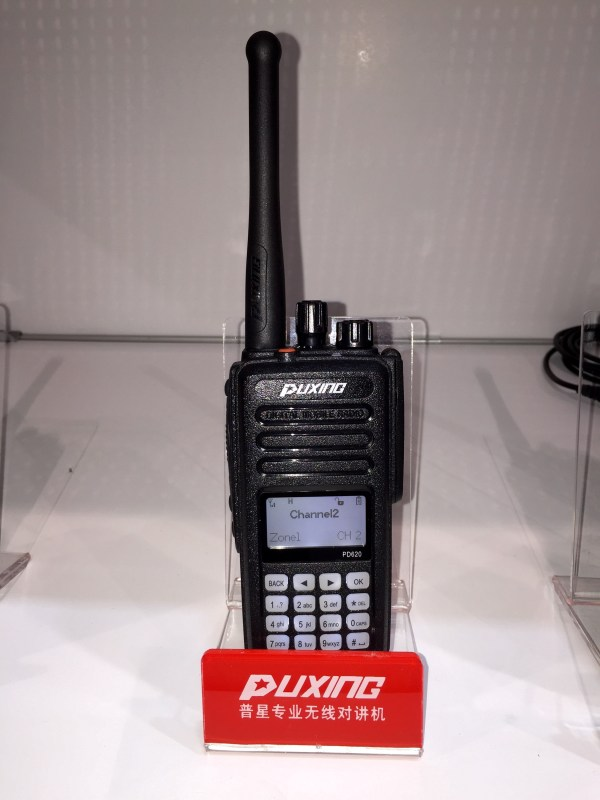 Puxing PD620 DMR portable radio