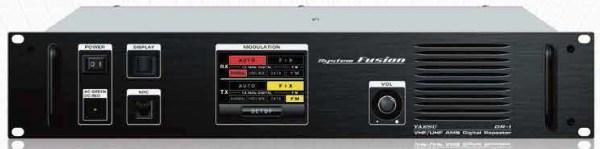 Yaesu DR-1X Repeater system fusion dual band mode FM C4FM digital