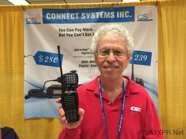 Jerry Wanger CS750 Connect Systems VA3XPR DMR portable mobile digital