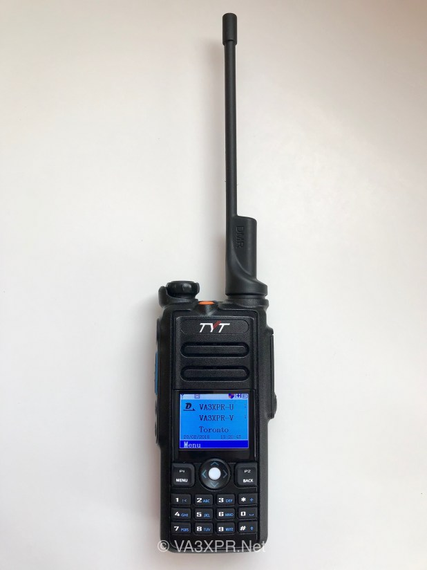 TYT MD-2017 dual band DMR portable radio ham