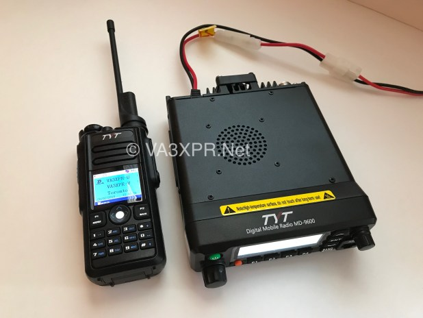 TYT MD-9600 MD-2017 DMR dual band ham radio portable mobile