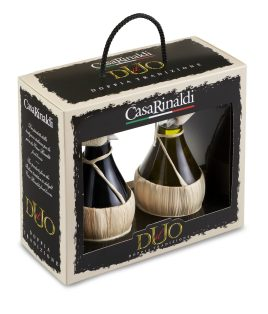 Il Duo · Balsamic vinegar of Modena IGP – extra virgin olive oil 100% italian