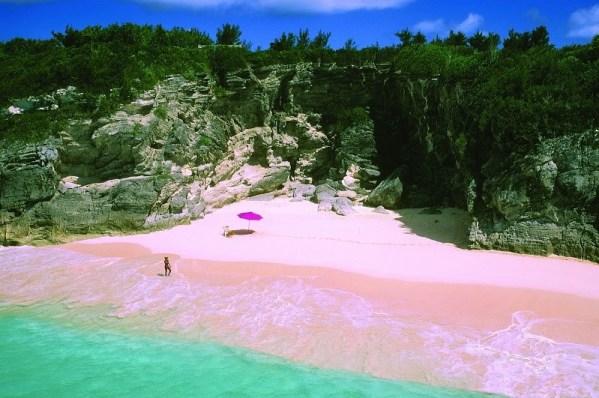 Pink Sands aux Bahamas