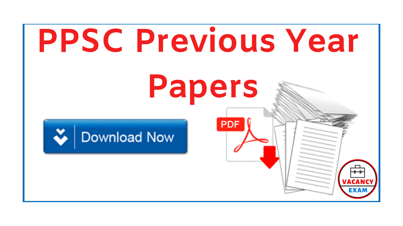 PPSC PCS Civil Services Previous Year Question Papers