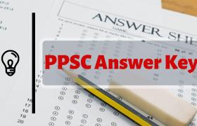 ppsc answer key