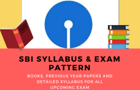 SBI Syllabus of Clerk PO