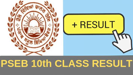 punjab board 10th class result 2019