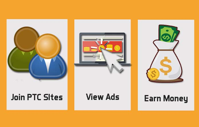 how to earn money from ptc sites