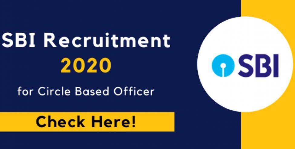sbi circle based officer vacancies
