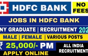 hdfc bank recruitment 2021
