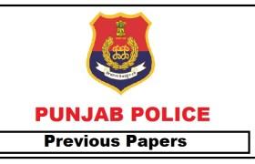 punjab police previous papers pdf