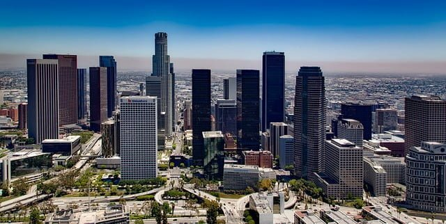 dormire a los angeles downtown