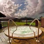 Outdoor Hot Tub