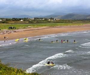 Surfing in Ireland