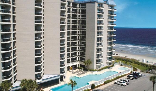Late Summer Travel, Myrtle Beach Carolina Winds Resort