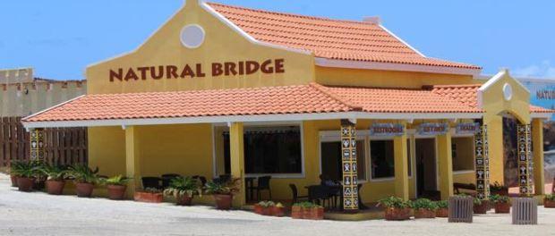 natural bridge in aruba