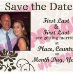 Classical Save the Date