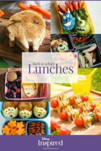 Disney Pack Lunches