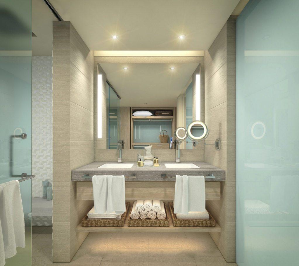xhale Club Junior Suite bathroom
