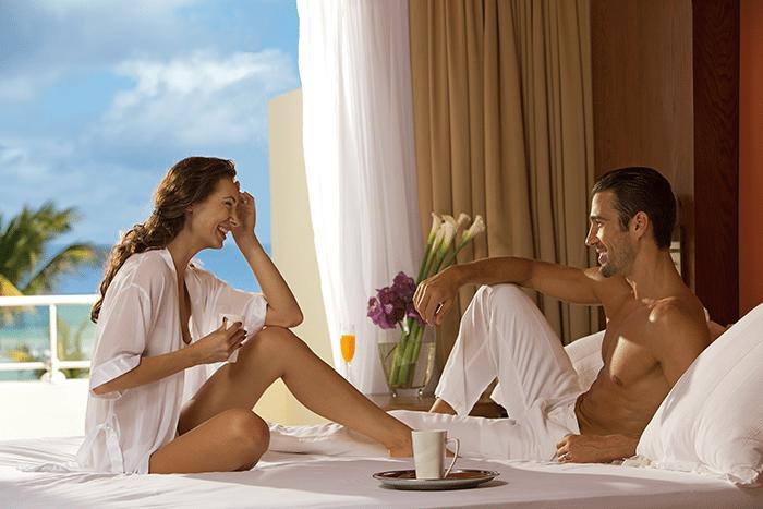 Enjoy breakfast in bed.
