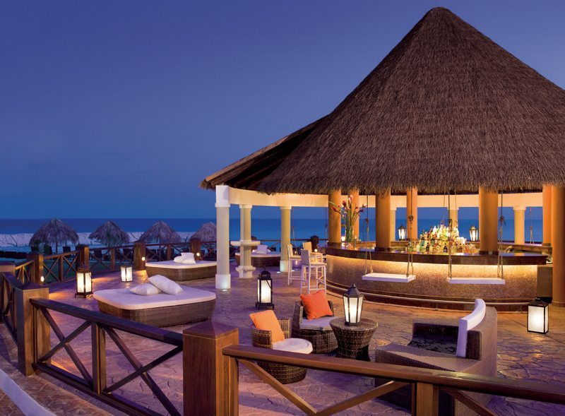 Sit back and relax with a favorite cocktail at the Barracuda Bar