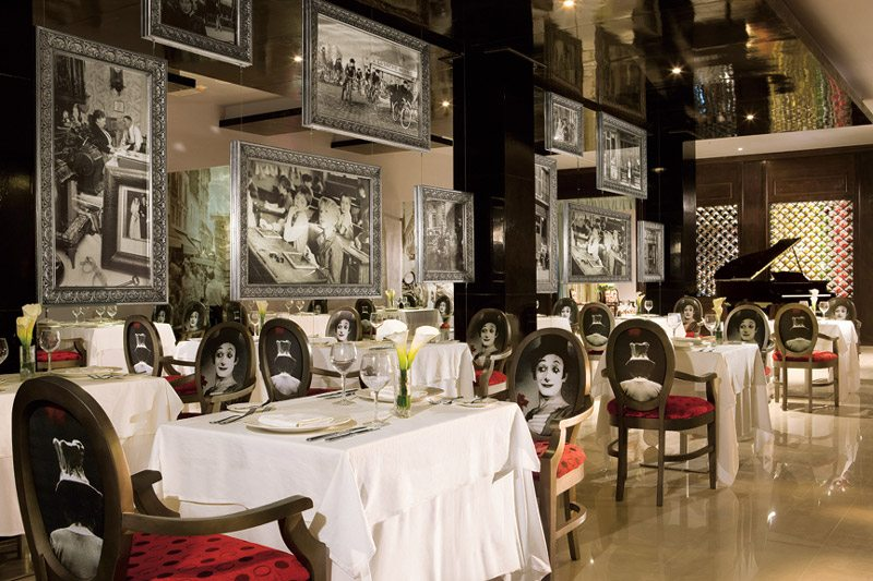 Savor the taste of French cuisine each evening at Bordeaux, serving delectable fare in a chic setting.