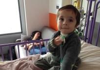 hospitalisation vacterl trachéotomie