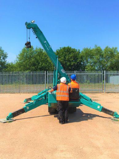 Crane familiarisation