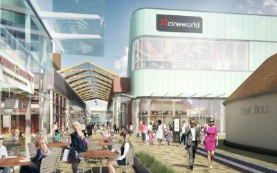 Vacuum and Crane assist with Bracknell's £240m town centre rebuild