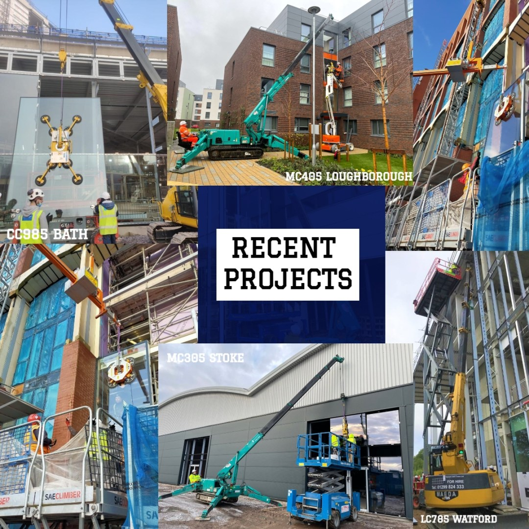 Contract Lift recent projects