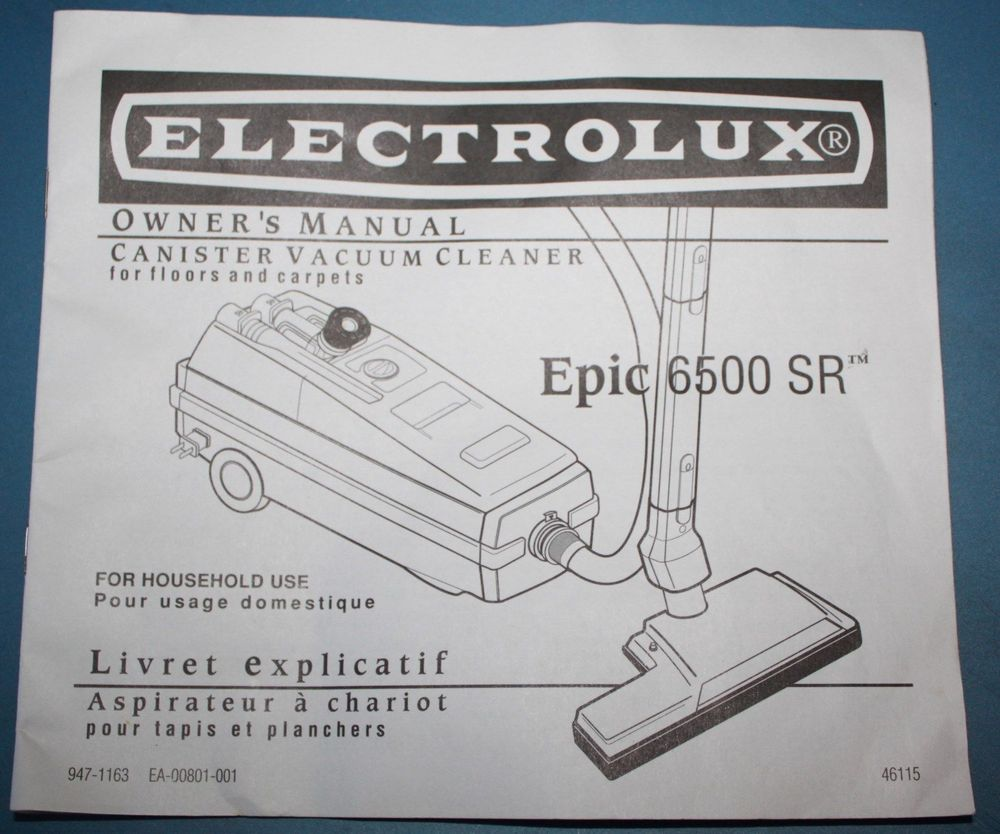 electrolux epic 6500 sr wiring diagram rh homedecoration nu Electrolux Model  1590 Central Vacuum Electrolux Epic 6500 Motor