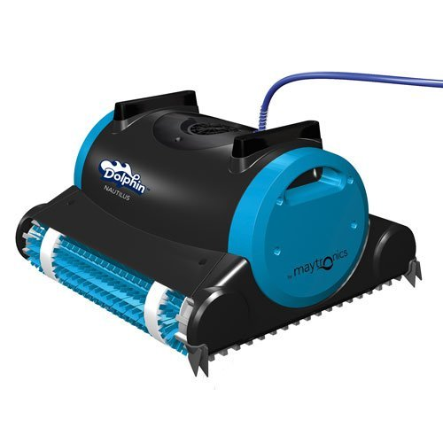 Best Pool Vacuum Cleaner Reviews: Dolphin 99996323 Dolphin Nautilus Robotic Pool Cleaner with Swivel Cable