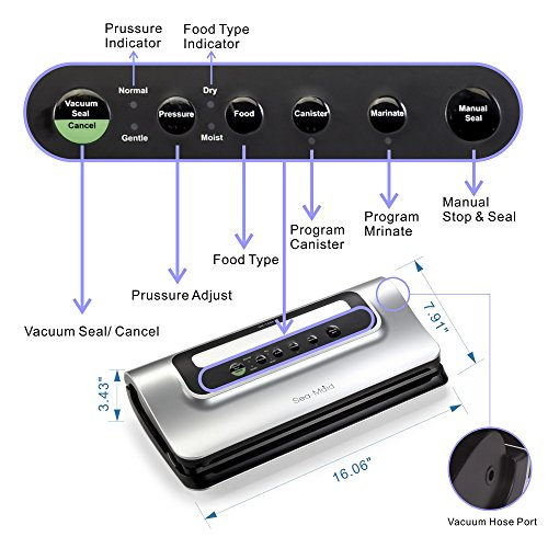 vacuum sealer gn1058 review