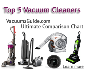 Vacuum cleaners comparison chart