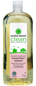 Martha Stewart Clean Wood Floor Cleaner