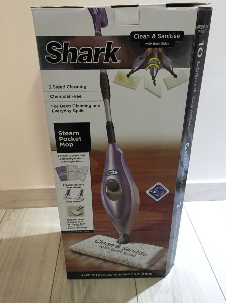 Shark Steam pocket mop - box