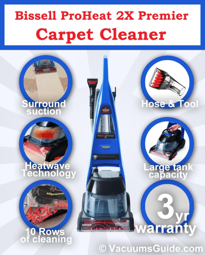 Bissell Proheat 2x Premier A Trustworthy Carpet Cleaner