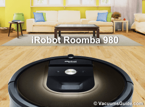 The new iRobot Roomba 980 – automatic cleaning reinvented