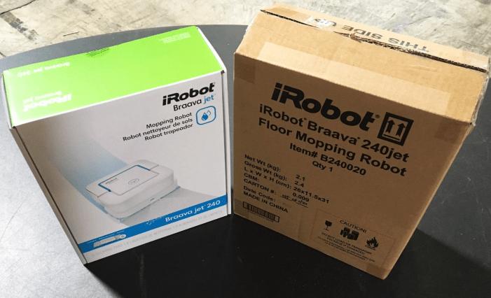 iRobot Braava Jet 240 giveaway