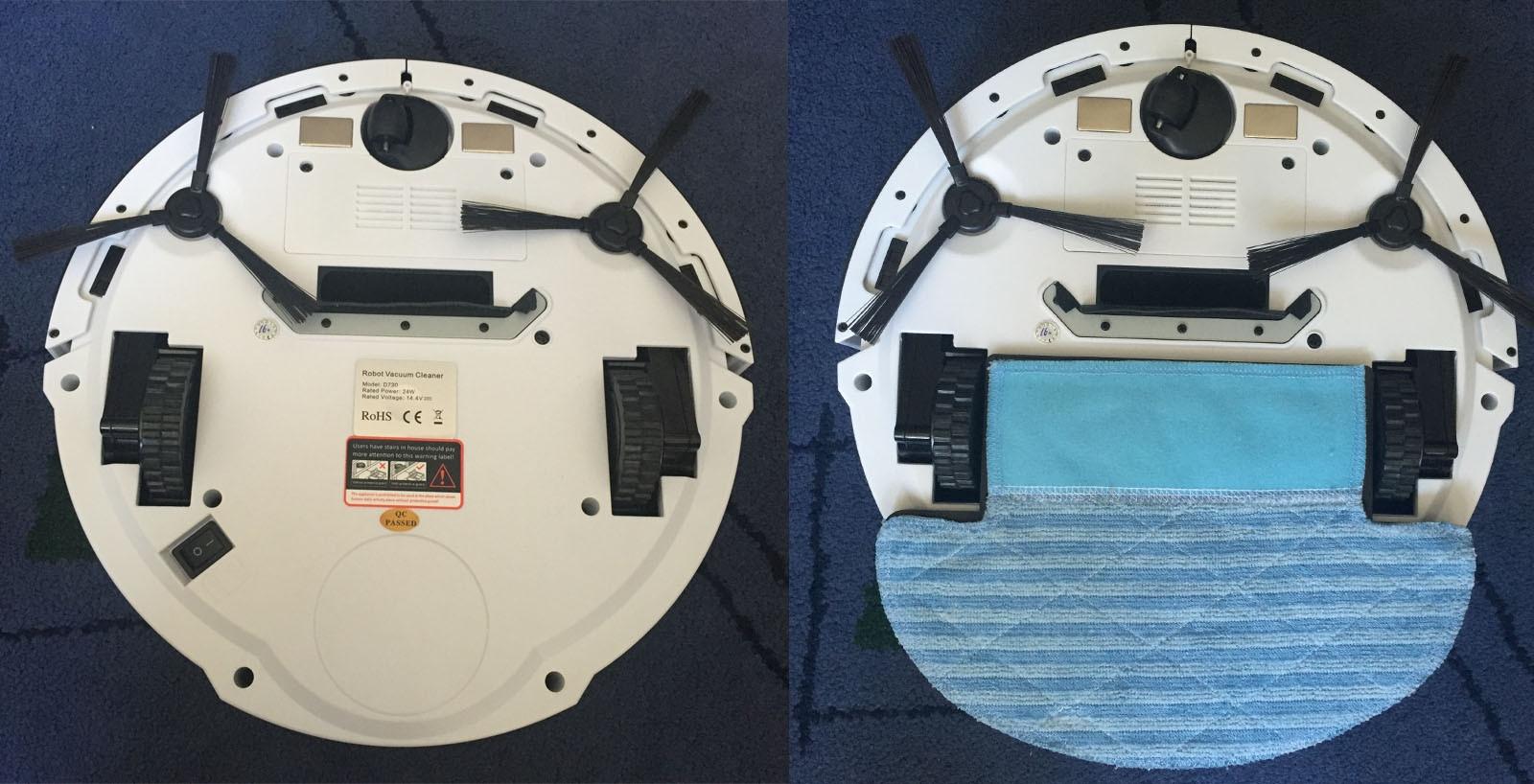 Seebest D730 Your Standard Hard Floor Robot Cleaner